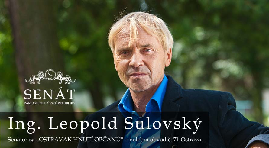 Leopold Sulovky. senator, ostrava